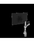 R-Go Zepher 4 Monitor Arm, adjustable, silver