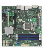 SUPERMICRO X11SAE-M - Moderkort - micro ATX - LGA1151 Socket