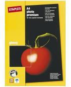 Fotopapper STAPLES Prem+ A4 glossy 25/FP