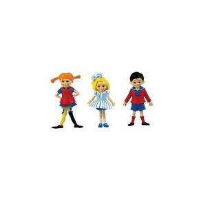 Docka Pippi, Annika, Tommy småfigurer