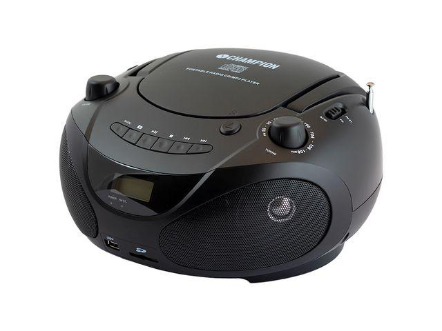 CD-Spelare CHAMPION CD/Radio/MP3/USB S