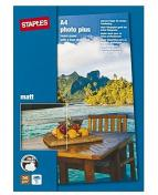 Fotopapper STAPLES Premium A4 matt 25/FP