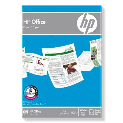 Kopieringspapper HP Office A4, 80g, 5x500/fp 5frp