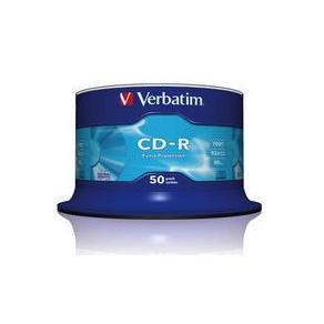 CD-R Verbatim Cakebox, 700Mb, 50/fp