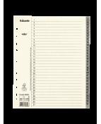 Pappregister System Servo A4+ 1-31 grå