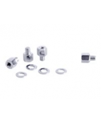 Multibrackets M M6 to M8 Adapter - Skruv - silver (paket om 4)