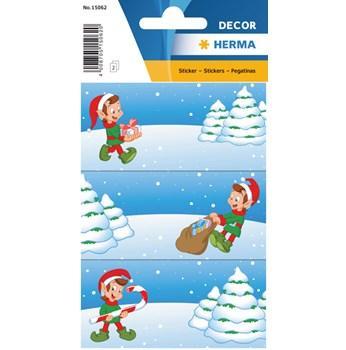 Herma stickers Decor julklappsetikett alf (2) 10st