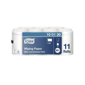 Torkrulle TORK Mini Advanced M1, centermatad, 1-lag, Ø14cm, 120m