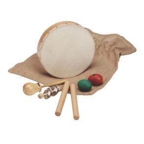 Rytmsats, 5 instrument