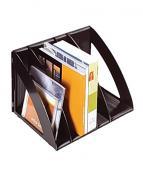 Tidskriftssamlare Verticep svart 6 delar