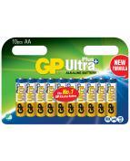 Batteri GP Ultra Plus AA 10/fp