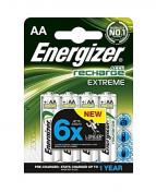 Batteri Laddbar ENERGIZER AA Extreme (4)