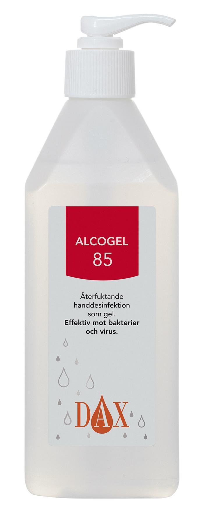 Handdesinfektion DAX Alcogel 85 600ml