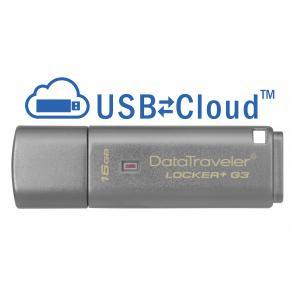 USB-minne KINGSTON Locker+ G3 3.0 16GB
