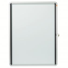 Glasskåp NOBO utomhusbruk magnetisk 9xA4