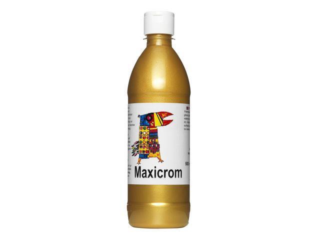 Målarfärg Maxicrom (mulitcrom) Guld, 500ml
