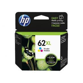 Bläckpatron HP C2P07AE 62XL C/M/Y