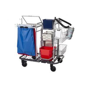 Städvagn NILFISK Pressvagn, fullutrustaad & städklar