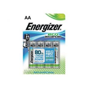 Batteri ENERGIZER Eco Advanced AA 4/FP