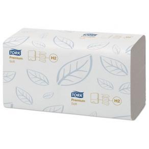 Pappershandduk TORK Xpress Premium H2, soft, blå dekor, 2310/fp