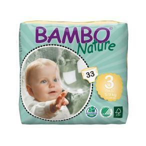 Blöjor - Blöja Bambo Nature Midi 5-9 kg 33/FP