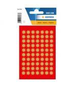 Herma stickers Decor stjärna ø10 guld (3)