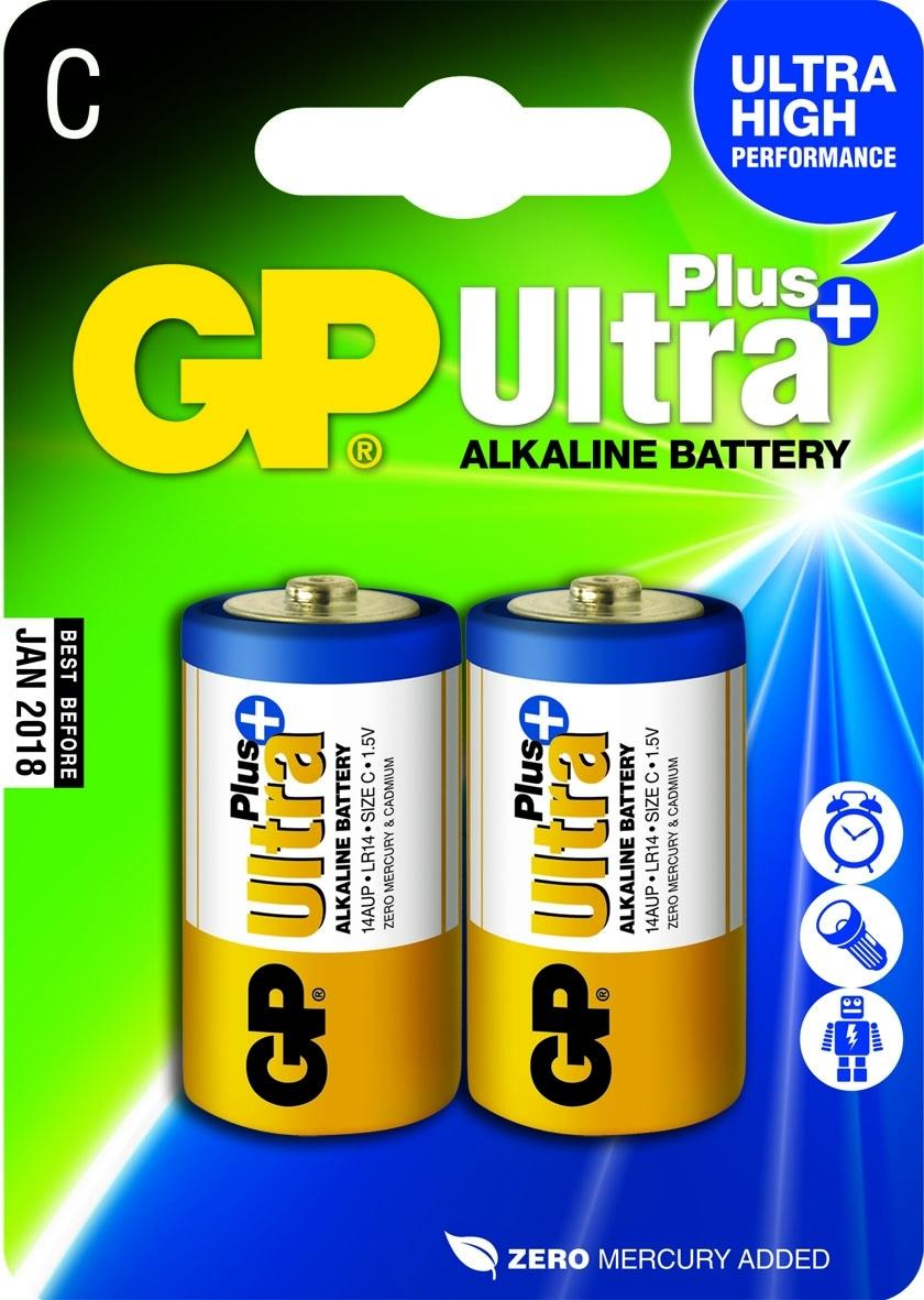 Batteri GP Ultra Plus C LR14 2/FP