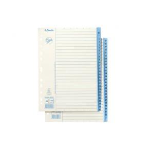 Pärmregister JOPA Papper A4 1-52, blå flik, 5st