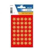 Herma stickers Decor stjärna ø16 guld (3)