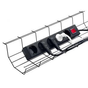 Kabelkorg Multi Svart, 72x15x8cm