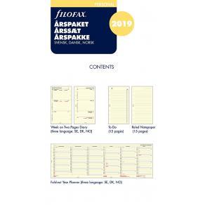 Filofax Årspaket Personal 2019