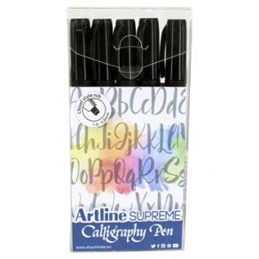 Kalligrafiset ARTLINE Supreme svart 5/F
