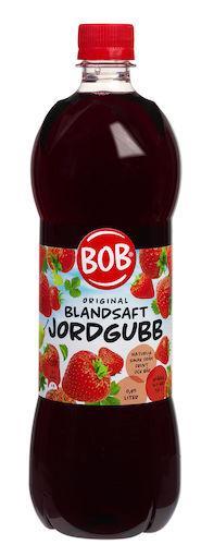 Saft Jordgubb BOB 0,95 l