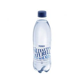 Vatten Naturell med kolsyra PREMIER, 50 cl