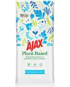 Ajax Wipes Bathroom 70-p