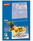 Fotopapper STAPLES Prem.10x15 gloss50/FP