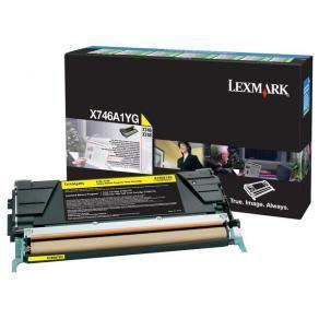 Lexmark - Gul - original - tonerkassett LCCP,