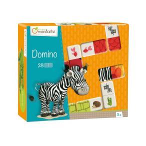 Spel Domino Djur med textur