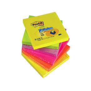 Post-It Z-block Rainbow, 76x76mm, 6st