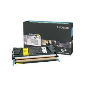 Lexmark - Gul - original - tonerkassett LRP