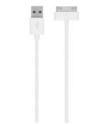 30-Pin ChargeSync Cable, White (1,2m)