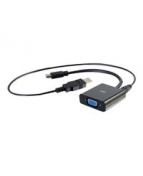 C2G 8in Mini DisplayPort Male to VGA + Audio Female Active
