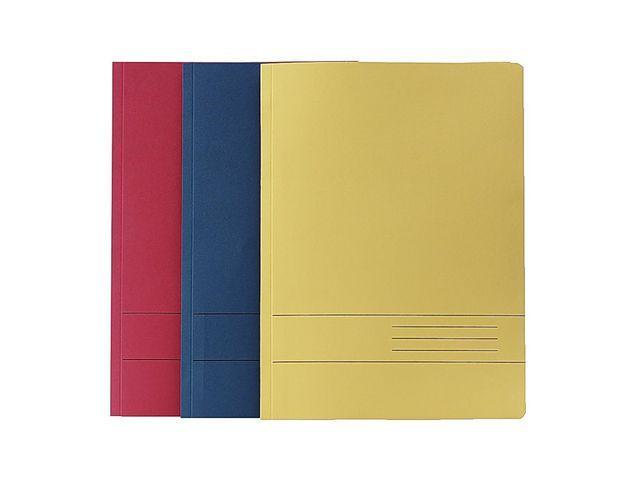 Samlingspärm A4 Blå, kartong, 25st 25st