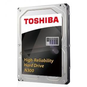 "Toshiba N300 NAS - Hårddisk - 8 TB - inbyggd - 3.5"" - SATA 6Gb/s"