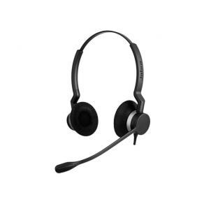 Headset Jabra BIZ 2300 Duo QD, Bordstelefon, USB & 3.5mm