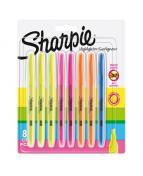 Sharpie Pocket Accent Highlighter 8-Blister Ass.colours