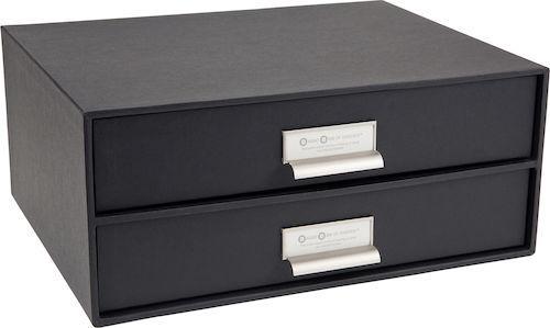 Kända Skrivbordsbyrå kartong 2-lådor grå, endast 129 kr XW-62