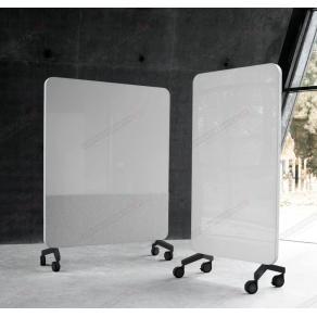 Skrivtavla Lintex Mobile Fabric, 1500x1960mm, svart stativ