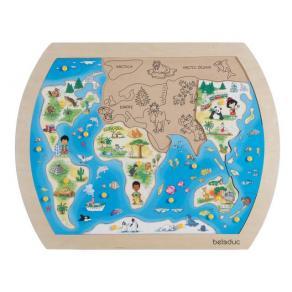 Knoppussel En värld 34 x 42 cm