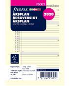 Filofax Årsplan Pocket 2020, S
